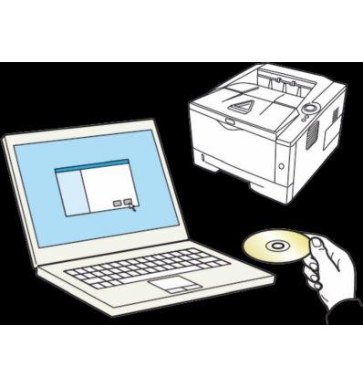 Instalacja drukarki i sterownika na 1 PC