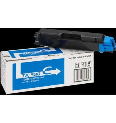 Toner TK-580C Kyocera